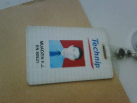 My last name tag