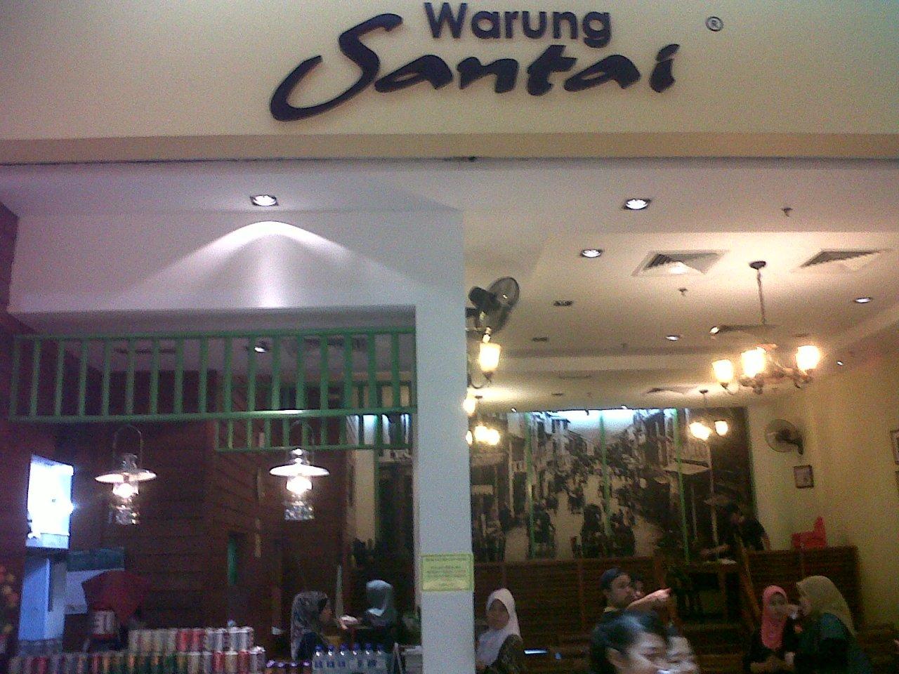 Warung Santai, Tesco Ampang, Kuala Lumpur