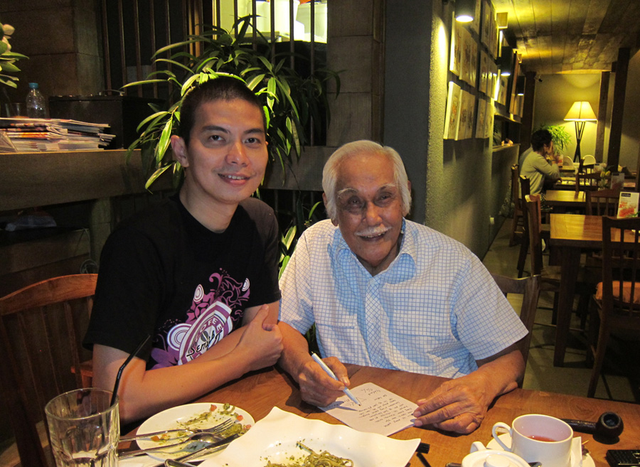Lunch with Bob Sadino (2)